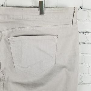 NYDJ | ankle gray wash jeans pant